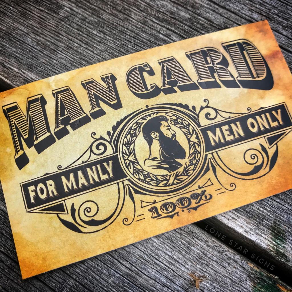 Man Card