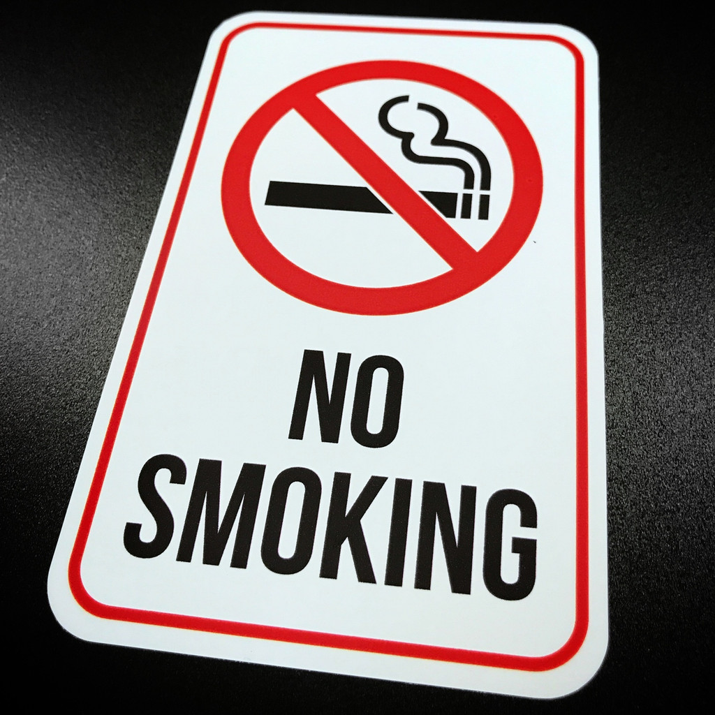 No Smoking - Sticker