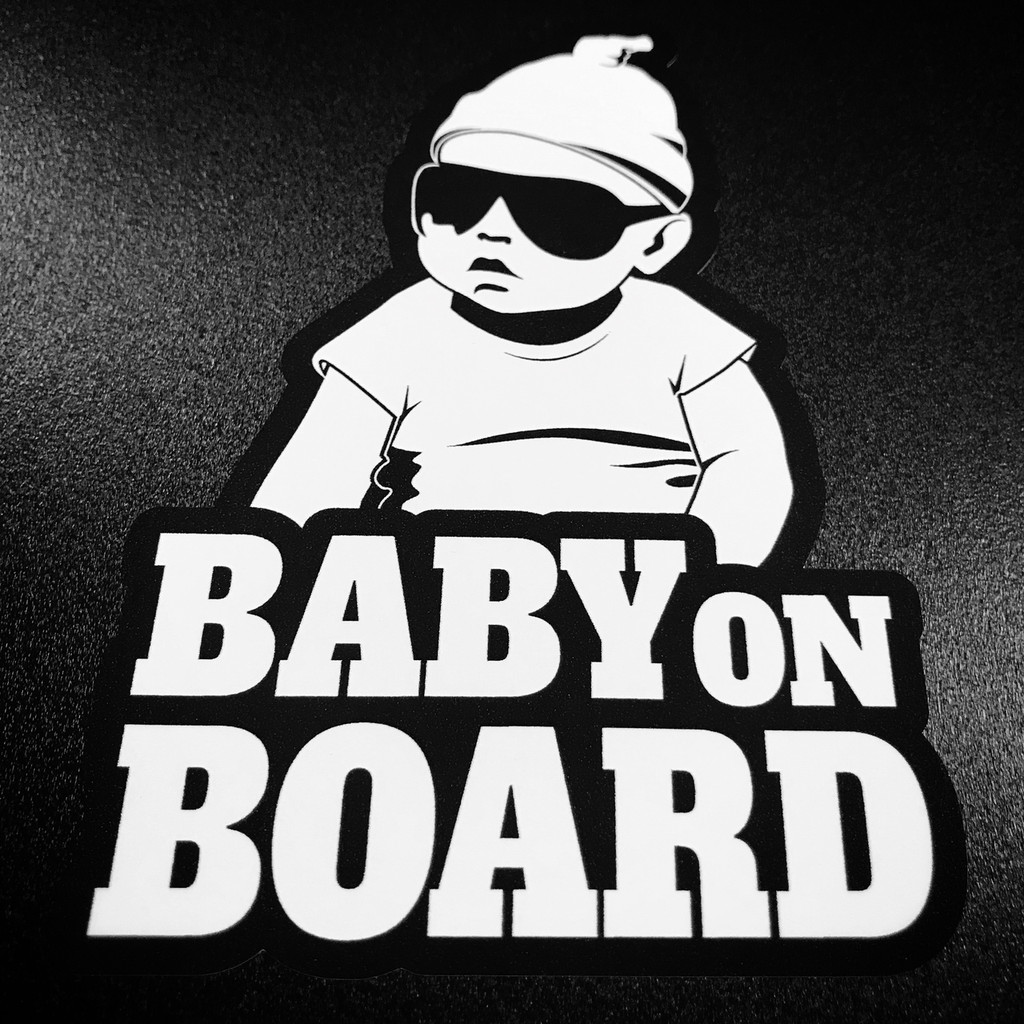 Baby Carlos On Board - Sticker