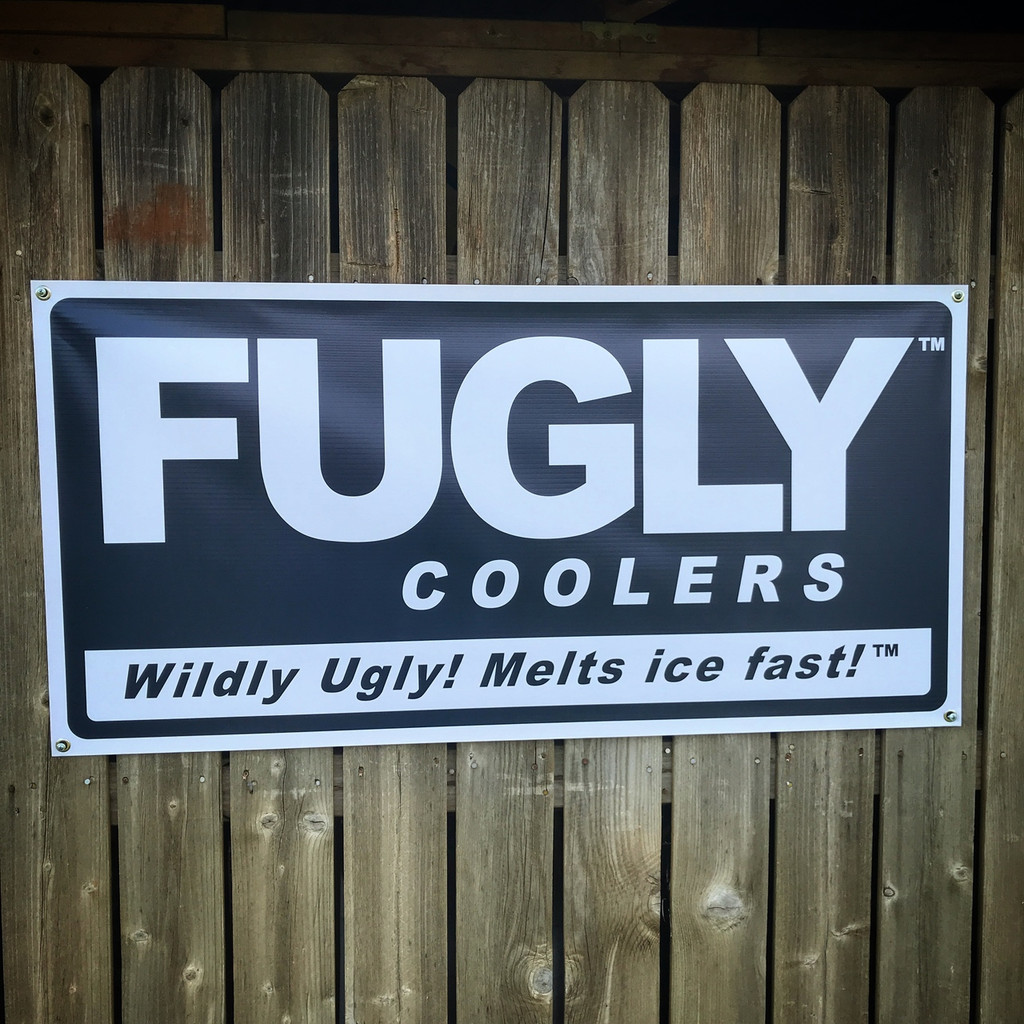 Fugly Coolers Wildly Ugly 2'x4' - Banner