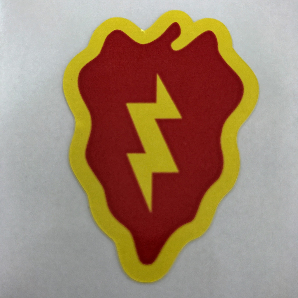 25th Infantry Division (4 pack) - Stickers