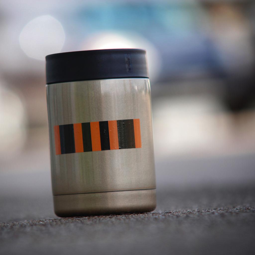 Agent Orange Ribbon (4 pack) - Stickers