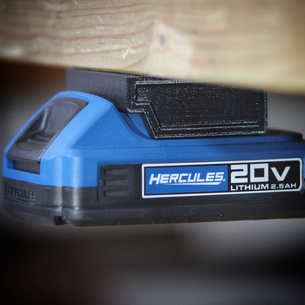 Battery Mount Adapter Dock Holder for Hercules 20 volt