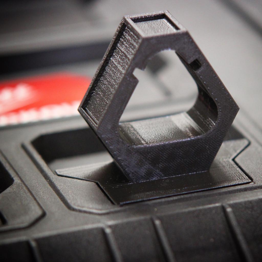 Battery Holster Adapter Holder for Milwaukee M12 to Packout