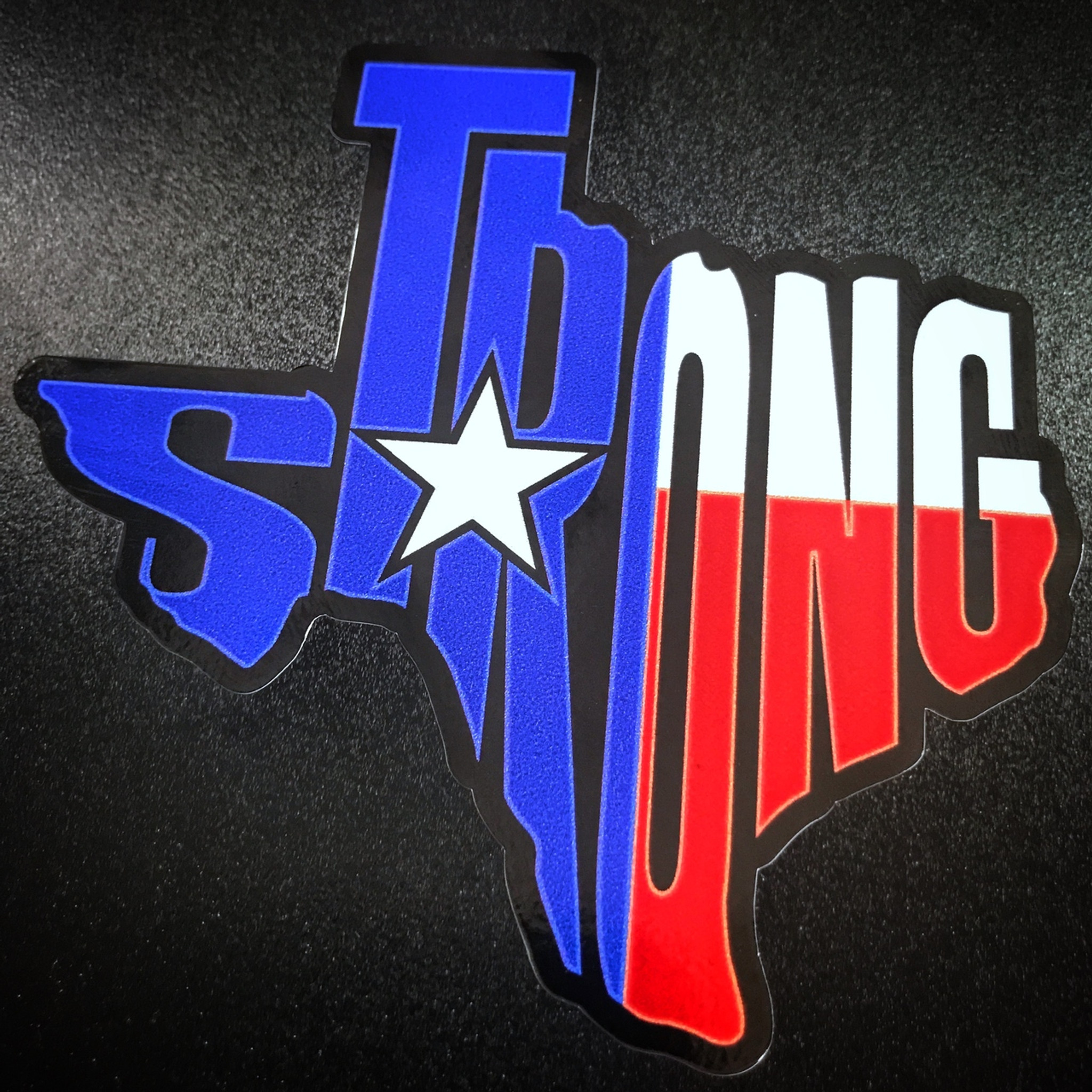 Sticker Texas Strong State
