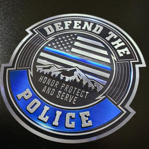 Defend The Police - Sticker