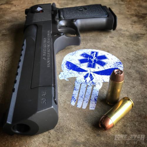 Paramedic Punisher Star of Life - Sticker