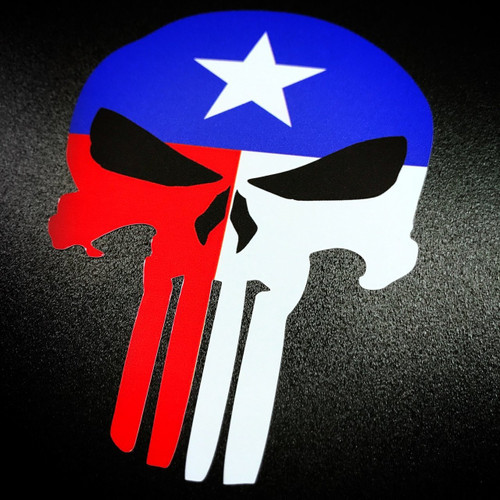 Punisher Texas - Sticker