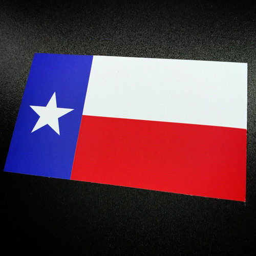 Texas Flag - Sticker