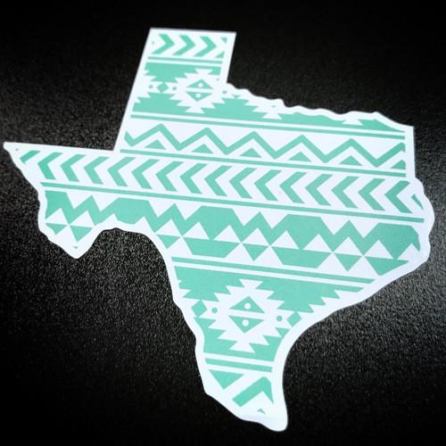 Texas Mint Aztec - Sticker