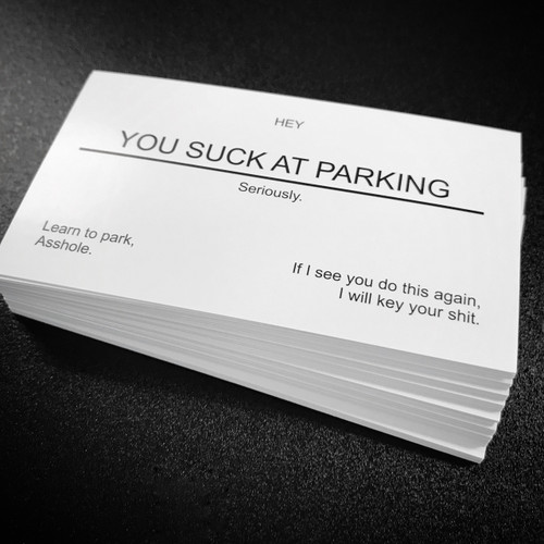 You Suck At Parking