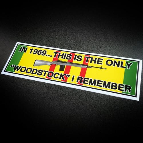 Woodstock Vietnam - Sticker