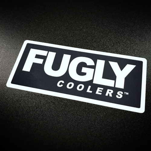 Fugly Coolers Logo Sticker