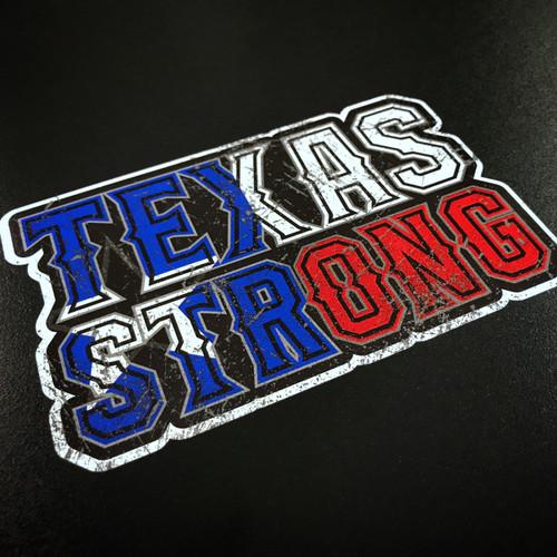 Texas Strong Sticker