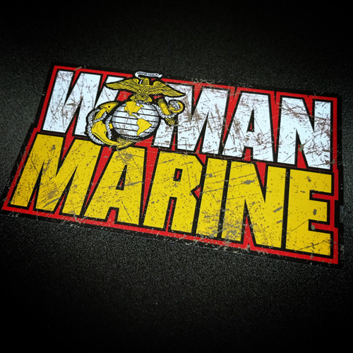 Woman Marine - Sticker