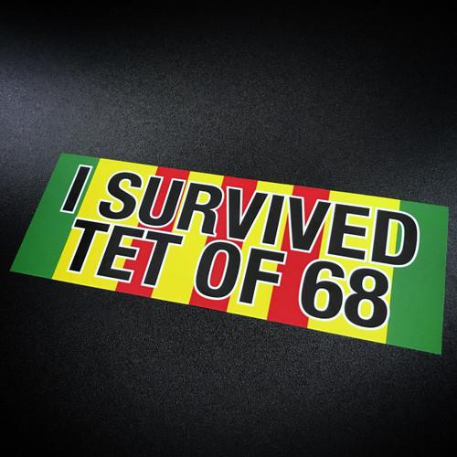 I Survived TET of 68 - Sticker