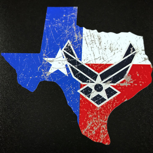 Texas USAF US Air Force - Sticker