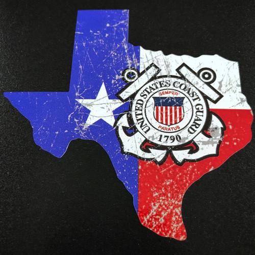 Texas US Coast Guard - Sticker
