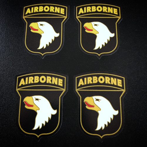 101st Airborne Division (4 pack) - Stickers