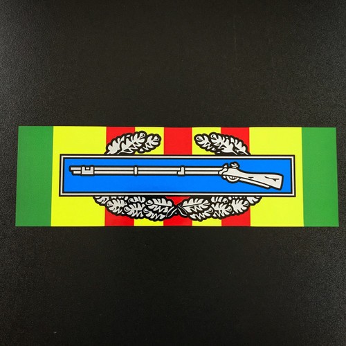 Combat Infantry Badge CIB Vietnam Ribbon - Sticker