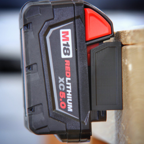Battery Mount Adapter Dock Holder for Milwaukee M18 M 18v