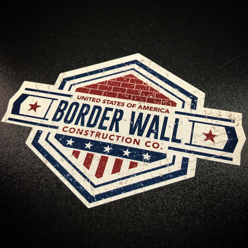Border Wall Construction Company - Sticker