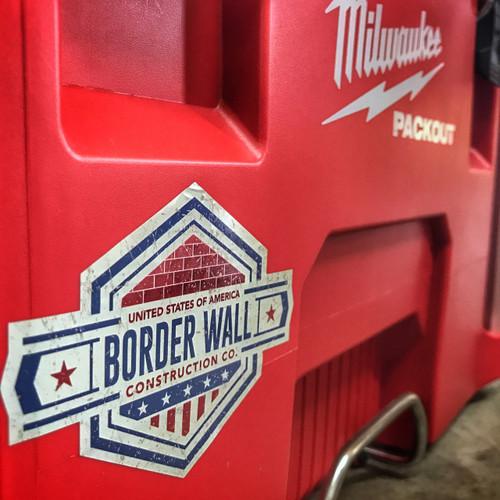 Border Wall Construction Company - Sticker