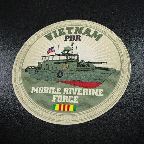 Vietnam PBR Mobile Riverine Force - Sticker