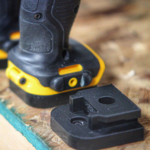 TOOL Mount Adapter Dock Holder for Dewalt 12v 12 volt