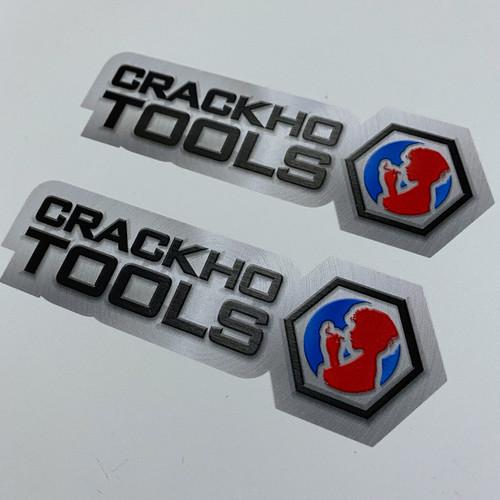 CrackHo Tools (2 pack) - Sticker