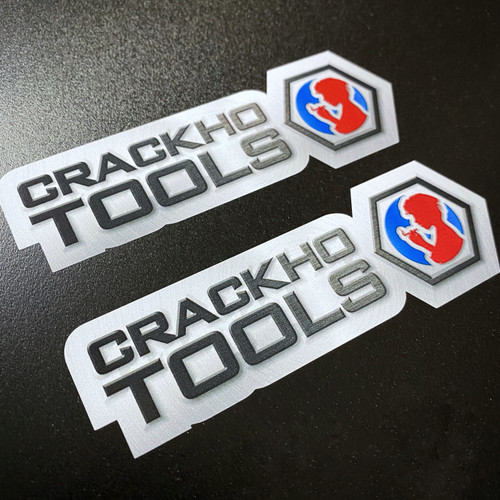 CrackHo Tools (2 pack) - Sticker