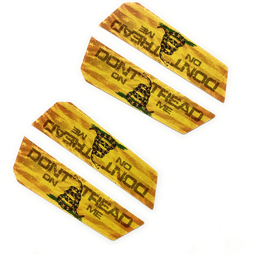 Don't Tread On Me Stickers for Milwaukee M18 Battery (2 pack)