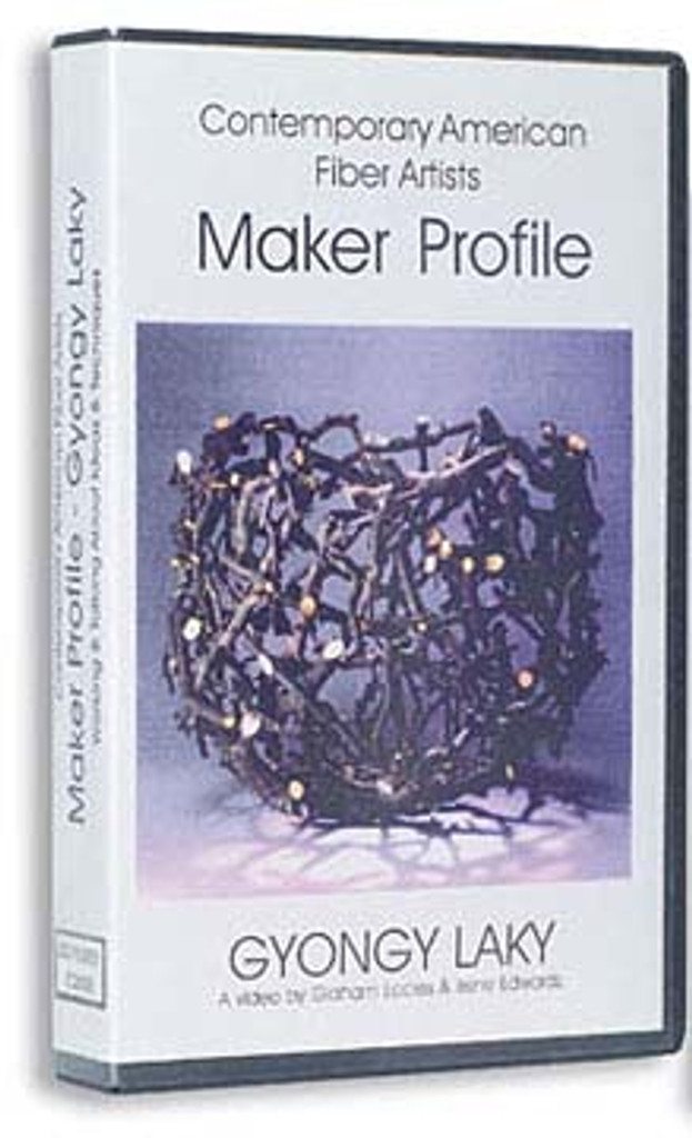 Contemporary  Fiber Artist  Maker Profiles: Gyöngy Laky