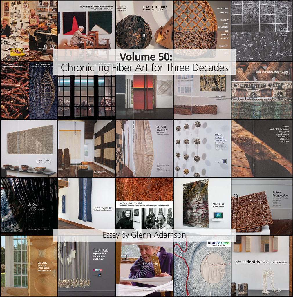 Volume 50: Chronicling Fiber Art for Three Decades