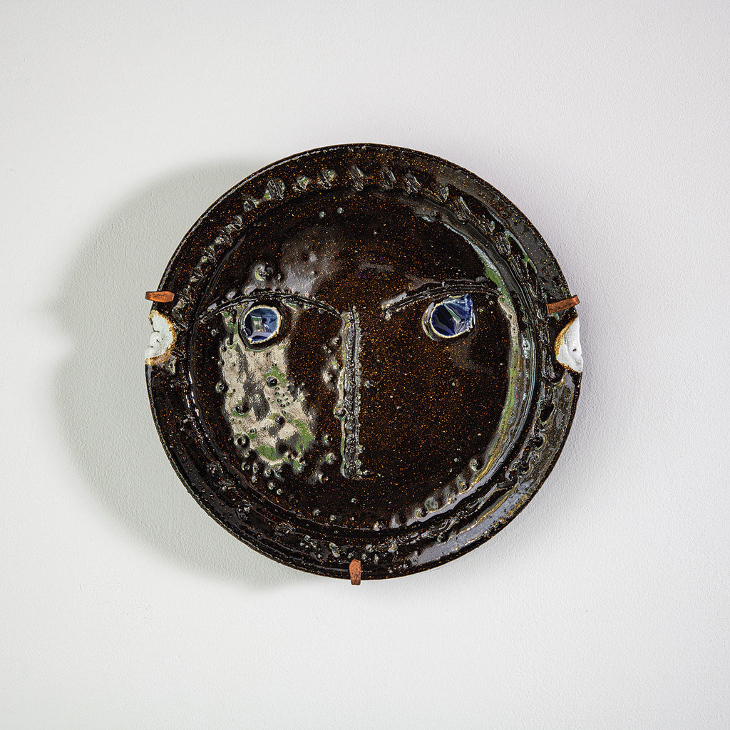 Ceramic Plate by Claude Vermette