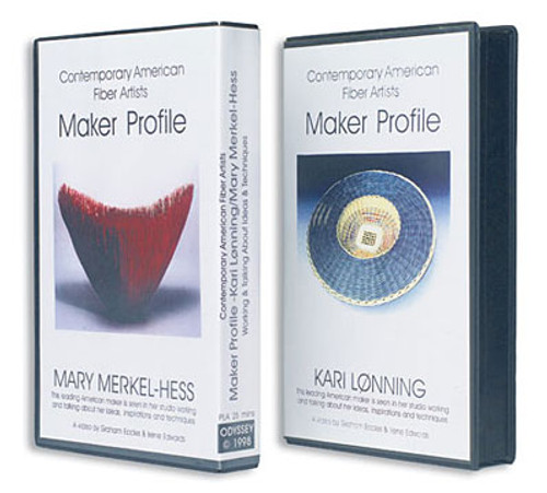 Contemporary Fiber Artists: Maker Profiles Mary Merkel-Hess and Kari Lønning