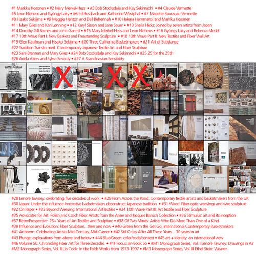 Full House: 47 Volumes Full set of available browngrotta arts catalogs
