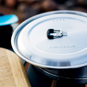 Control your cooking range with the Two Pot Set and Tripod