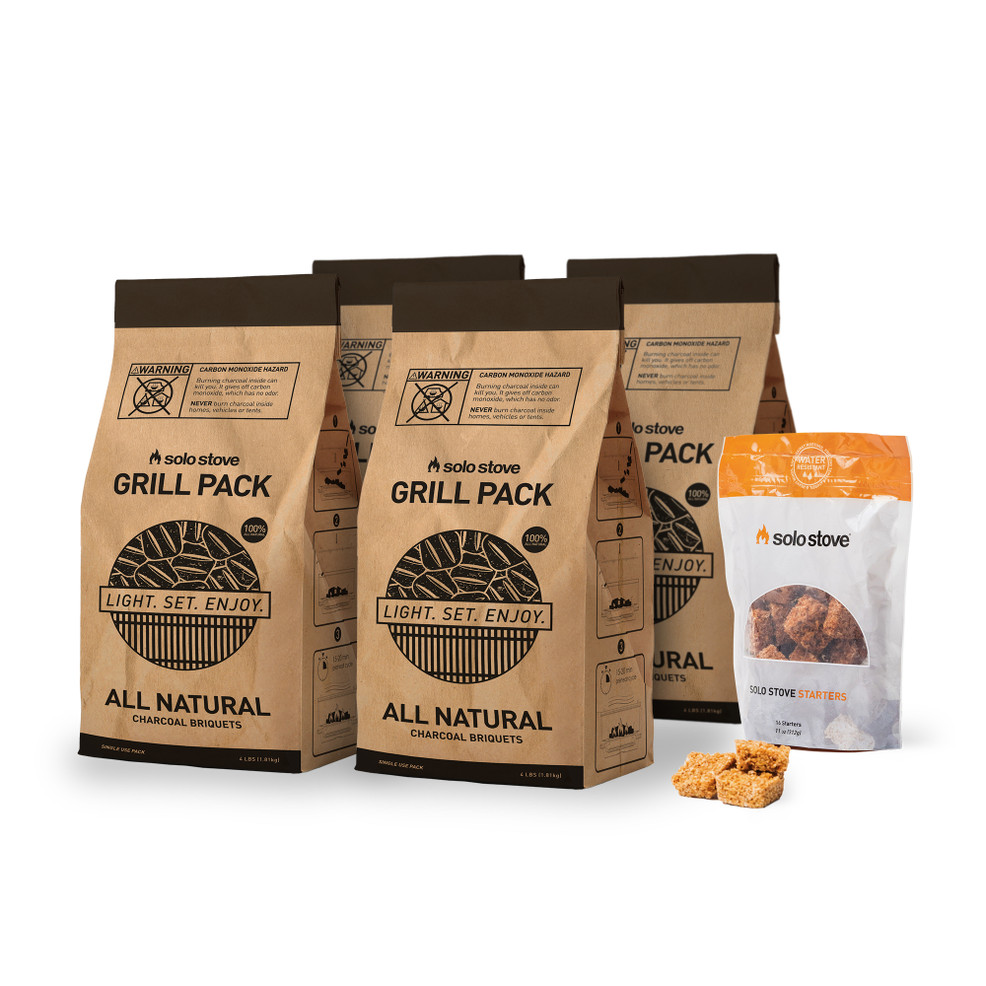 All Natural Charcoal 4 Pack
