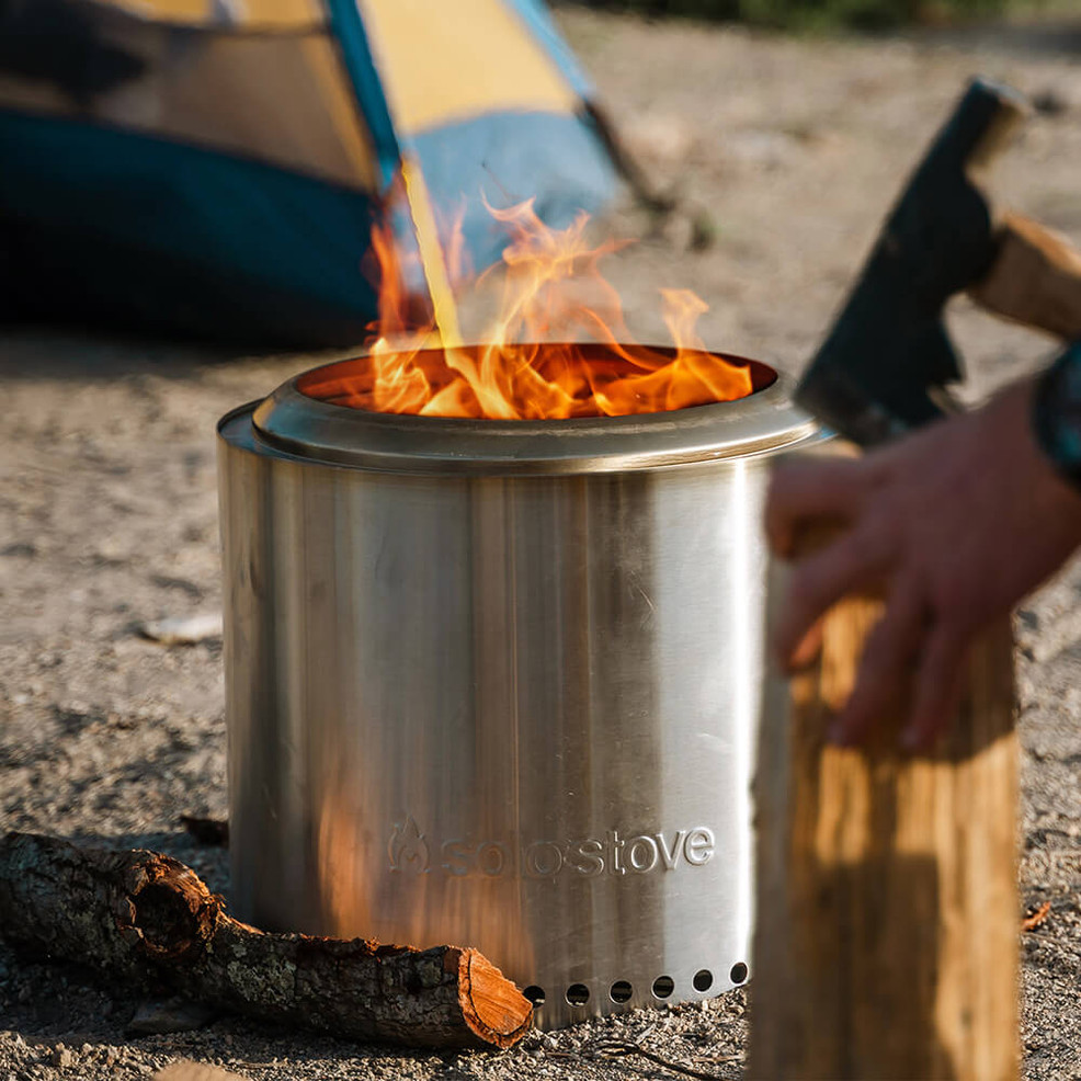 Solo Stove Fire Pit: Get The Brand's Compact Ranger ... - Solo Stove Ranger Fire Pit