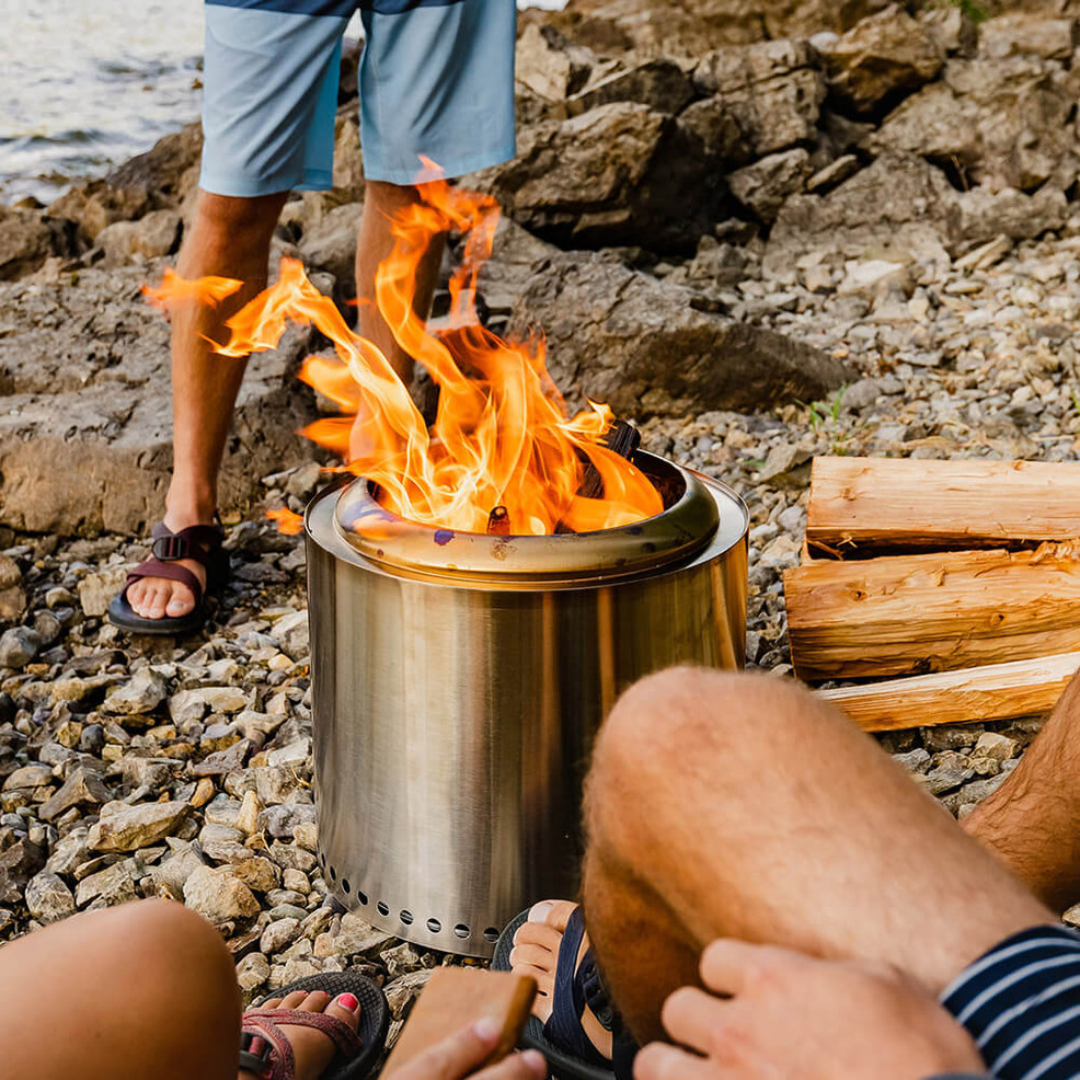 Best Smokeless Fire Pits: Solo Stove Vs. Breeo Vs. Blue Sky ... - Solo Stove Ranger Review