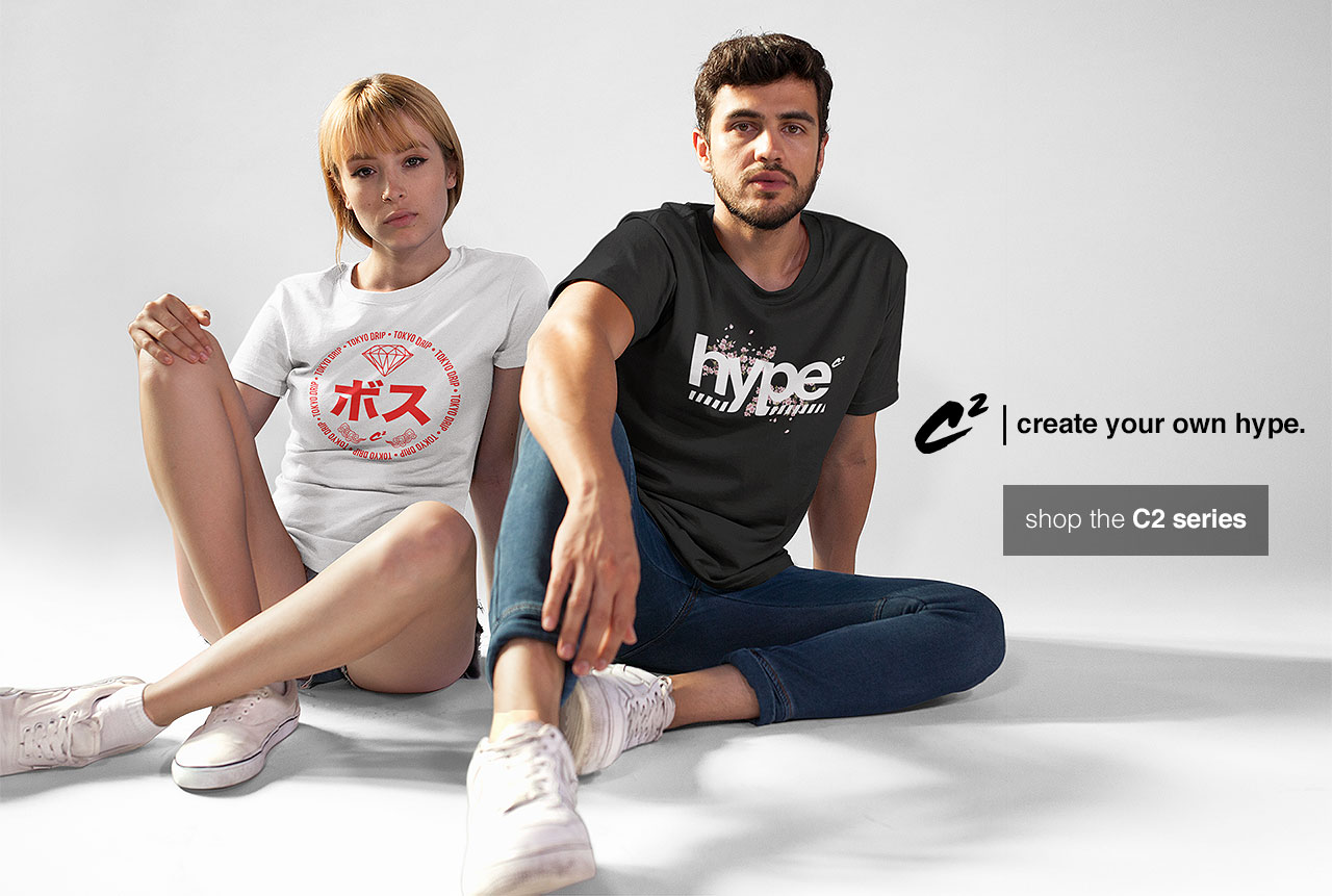 C2 T-Shirts, Christhacreator clothing and apparel collection
