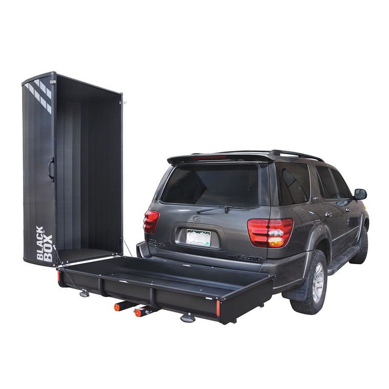 Black Box Slide Out Hitch Enclosed Cargo Carriers Let S Go Aero