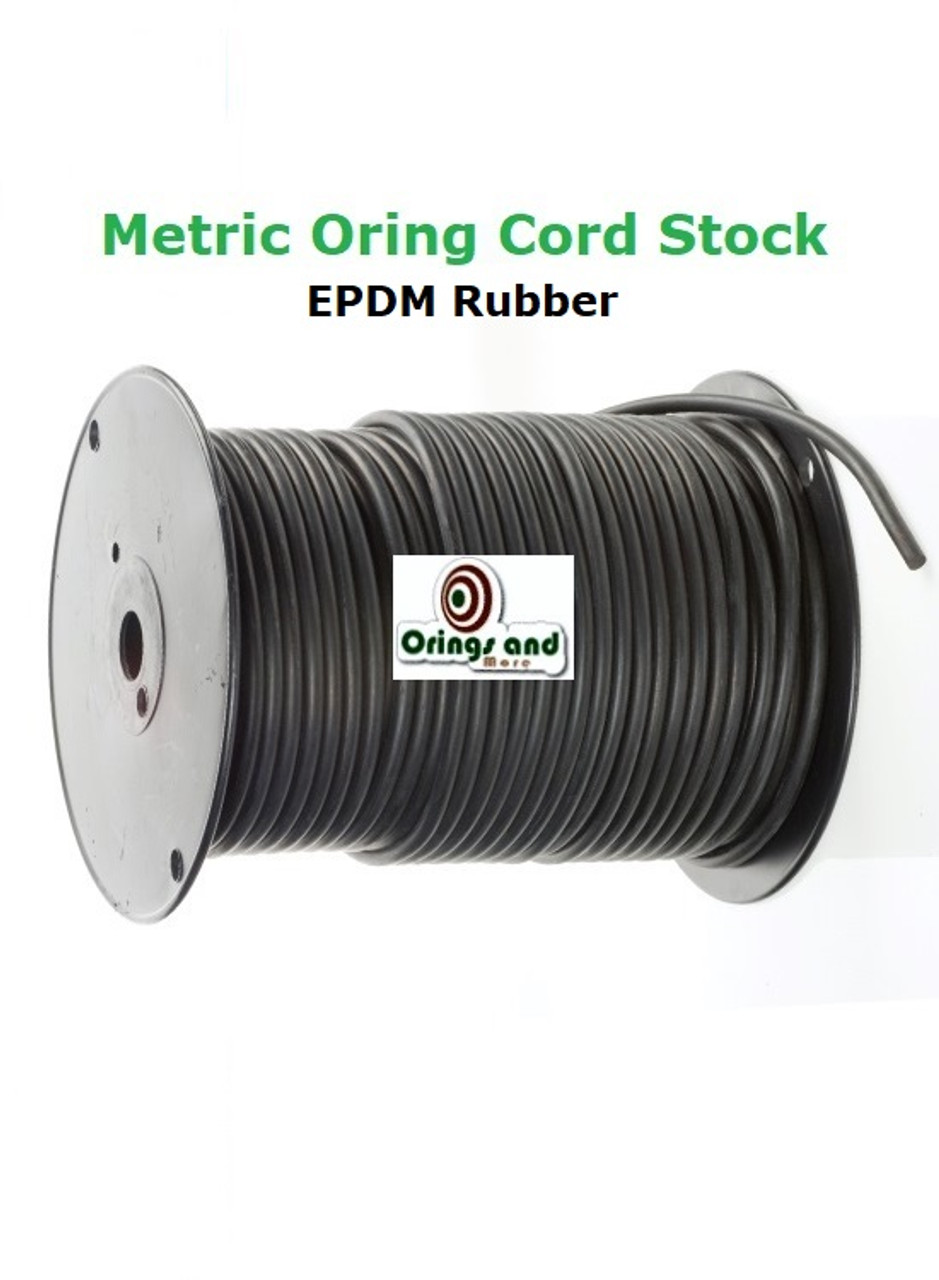 Metric 3mm O-ring Cord EPDM   Price per Foot