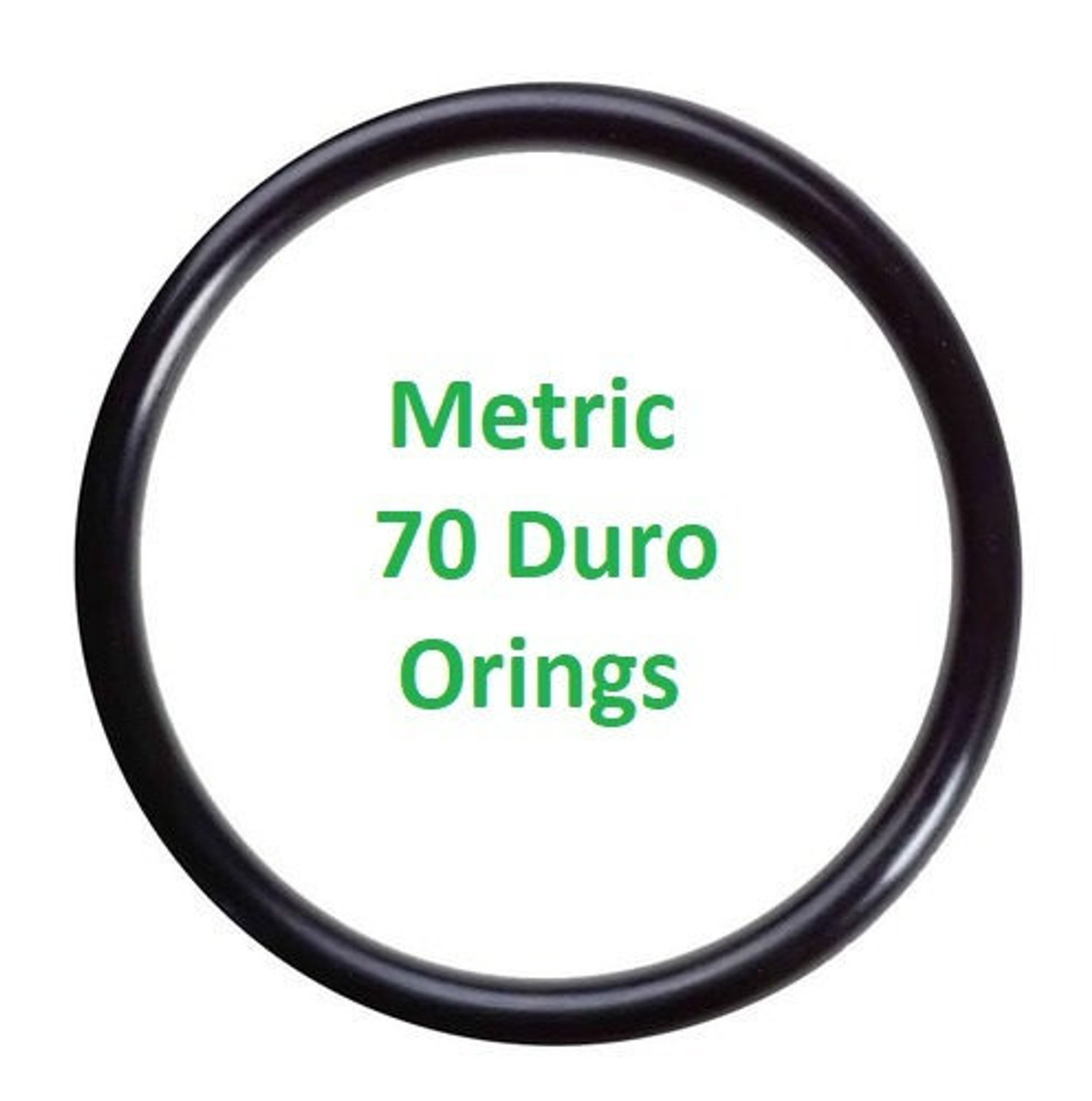 Metric Buna  O-rings 3 x 3mm Price for 25 pcs