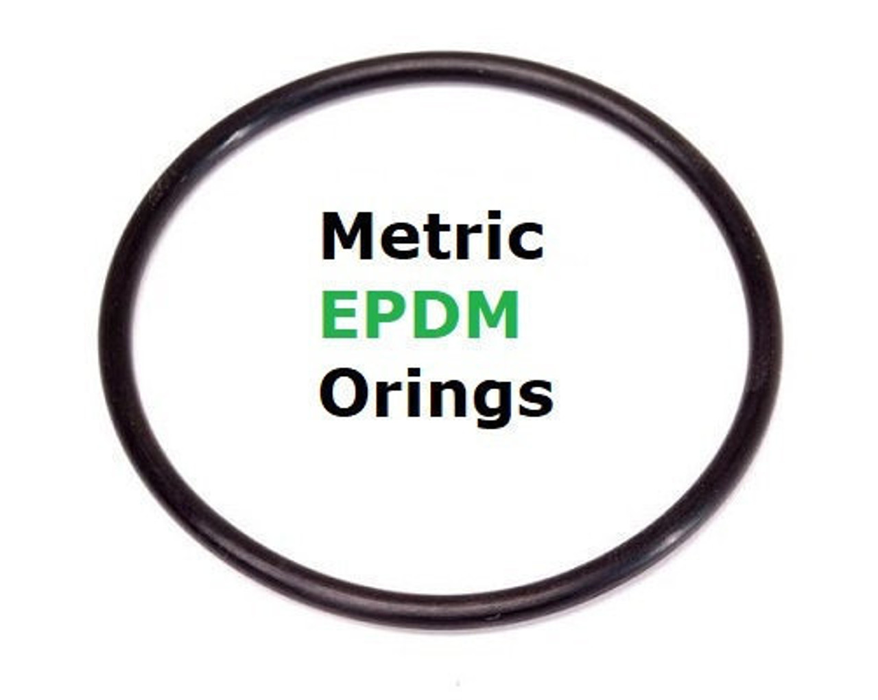 Metric EPDM 70  Orings 5.7 x 1.9mm    Minimum 25 pcs