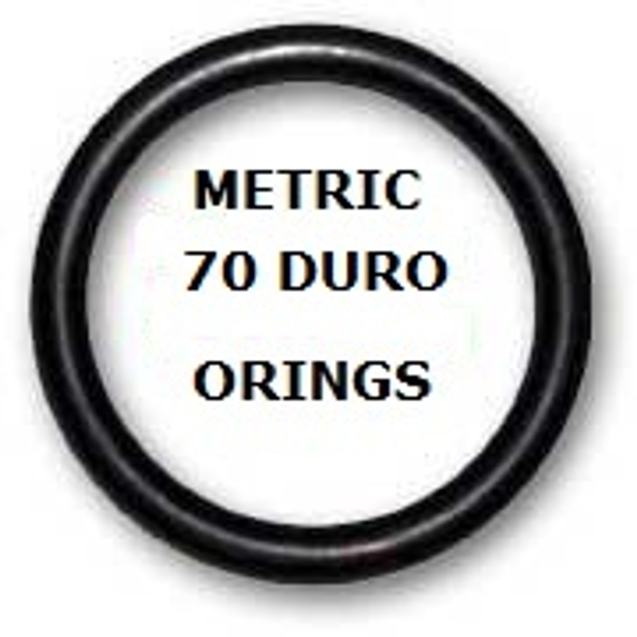 Metric Buna  O-rings 7 x 1mm Price for 50 pcs