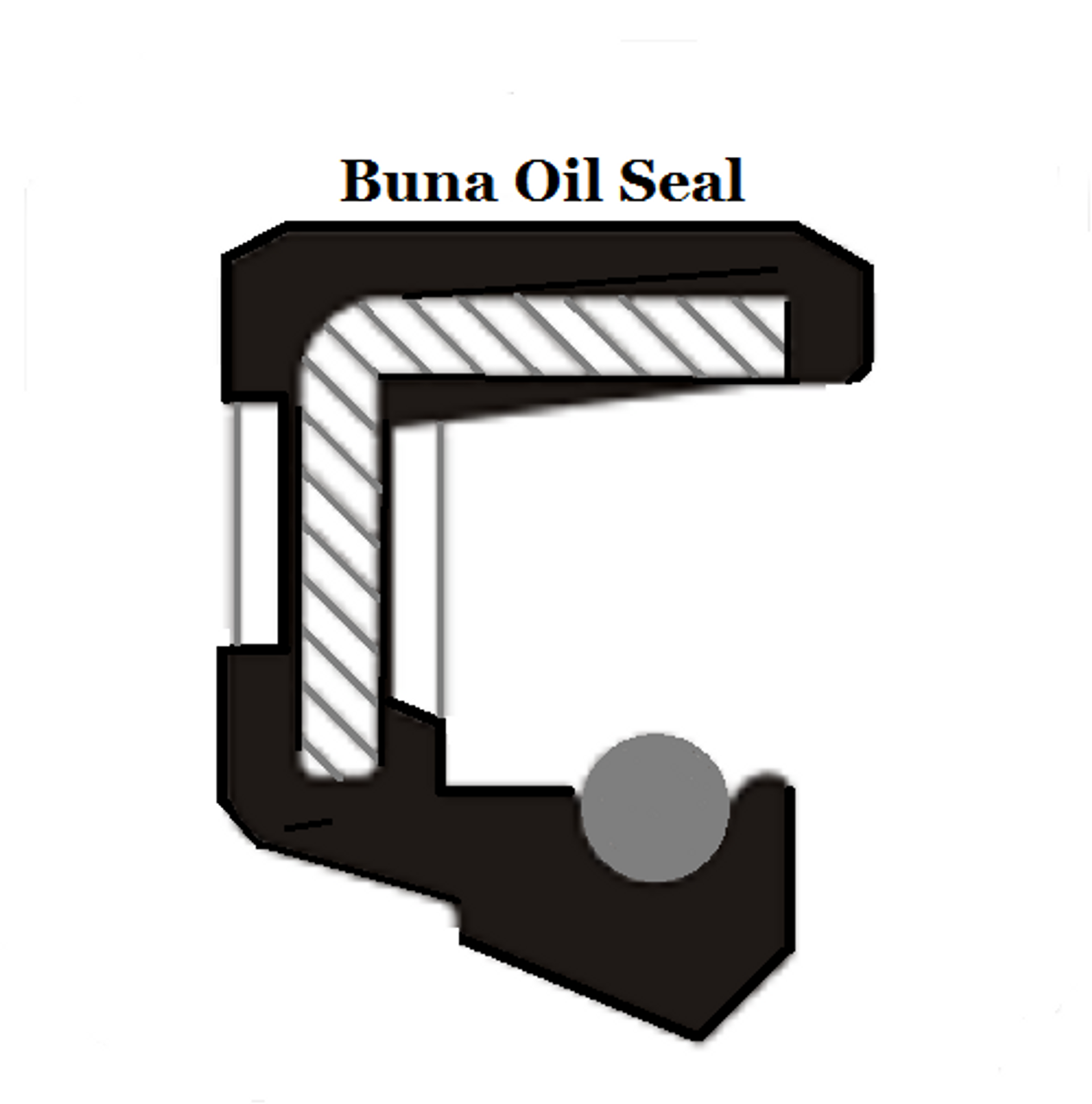 Metric Oil Shaft Seal 22 x 32 x 7mm Double Lip  Price for 1 pc