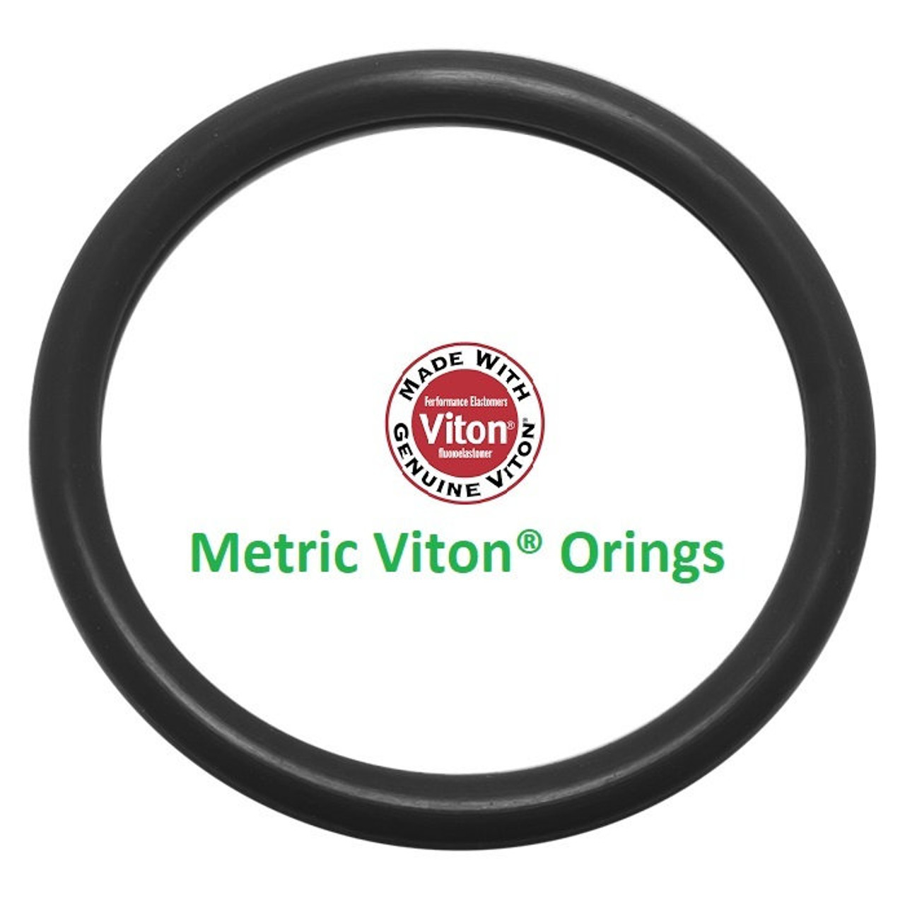 Viton®/FKM O-ring 114.6 x 5.7mm JIS P115 Price for 1 pcs