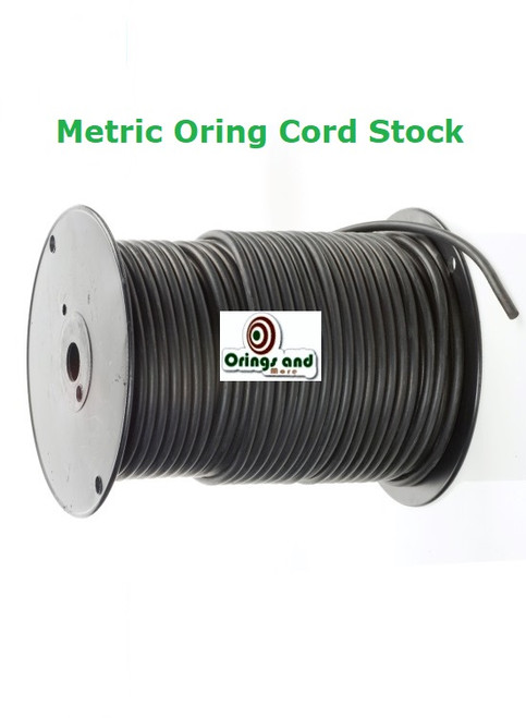 Metric O-ring Cord Buna Nitrile  8mm Price per Foot